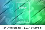 abstract geometric colorful... | Shutterstock .eps vector #1114693955