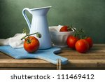 Still Life With Tomatoes And...