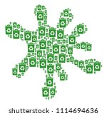 splash area constructed from... | Shutterstock .eps vector #1114694636