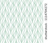 classic leaves art deco... | Shutterstock .eps vector #1114704272