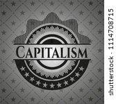 capitalism realistic dark emblem   Shutterstock .eps vector #1114708715