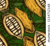 vector seamless color pattern... | Shutterstock .eps vector #1114712168