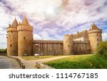 panoramic view of chateau de... | Shutterstock . vector #1114767185
