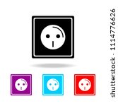 electric outlet icon. elements... | Shutterstock .eps vector #1114776626