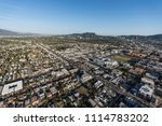 los angeles  california  usa  ... | Shutterstock . vector #1114783202