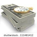 3d time is money | Shutterstock . vector #111481412