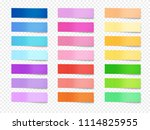 sticky notes vector... | Shutterstock .eps vector #1114825955
