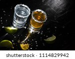 traditional mexican tequila... | Shutterstock . vector #1114829942