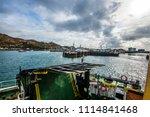 mallaig  lochaber  scotland  ... | Shutterstock . vector #1114841468