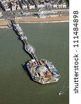 Aerial View Of Brighton Pier ...