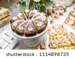 candy bar. delicious sweet... | Shutterstock . vector #1114898735