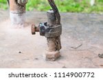 ground wire connection | Shutterstock . vector #1114900772