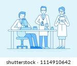 vector illustration in flat... | Shutterstock .eps vector #1114910642