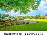 Small photo of Wellington monument in the Phoenix park in Dublin, Ireland