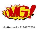 comic text speech. icon...   Shutterstock .eps vector #1114928906