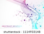 big data visualization.... | Shutterstock .eps vector #1114933148