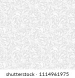 seamless grey background with... | Shutterstock .eps vector #1114961975