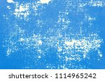 blue concrete texture wall with ... | Shutterstock . vector #1114965242