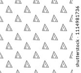 triangles. black and white... | Shutterstock .eps vector #1114981736