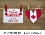 canada day  independence day... | Shutterstock . vector #1114985228