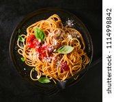 tasty appetizing classic... | Shutterstock . vector #1114998842