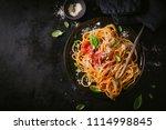 tasty appetizing classic...   Shutterstock . vector #1114998845