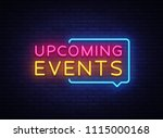 Upcoming Events Neon Signs...