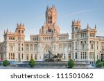 cibeles fountain located... | Shutterstock . vector #111501062