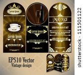 eps10 abstract vector design... | Shutterstock .eps vector #111501122
