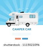 Website Design With Camper Van...