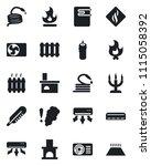 set of vector isolated black...   Shutterstock .eps vector #1115058392