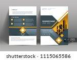 multipurpose vector layout... | Shutterstock .eps vector #1115065586
