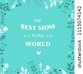"vector typographic poster ""the...   Shutterstock .eps vector #1115074142"