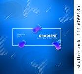 abstract gradient background... | Shutterstock .eps vector #1115099135