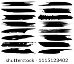 vector collection of artistic... | Shutterstock .eps vector #1115123402