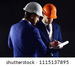 builders think about... | Shutterstock . vector #1115137895