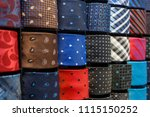 big variety of different color... | Shutterstock . vector #1115150252