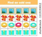 educational children game.... | Shutterstock .eps vector #1115153012