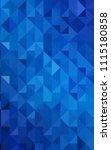 light blue verticalpolygonal...   Shutterstock . vector #1115180858