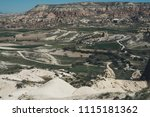view of tuff rocks of love... | Shutterstock . vector #1115181362