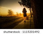 woman photo traveling in the... | Shutterstock . vector #1115201492