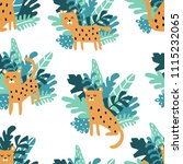 vector seamless pattern with... | Shutterstock .eps vector #1115232065