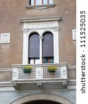 Classical Italian Window With A ...