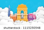 vector illustration of 15th... | Shutterstock .eps vector #1115250548