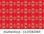 christmas  snowflake  new year... | Shutterstock . vector #1115282585