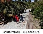 refugees and migrants in a... | Shutterstock . vector #1115285276