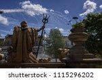cheltenham  gloucestershire  01 ... | Shutterstock . vector #1115296202