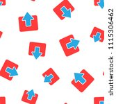 entrance door icon seamless...   Shutterstock .eps vector #1115306462