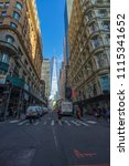 manhattan  new york usa   may 3 ... | Shutterstock . vector #1115341652