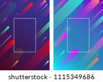 purple and blue backgrounds... | Shutterstock .eps vector #1115349686